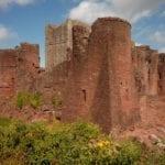 Goodrich Castle Herefordshire