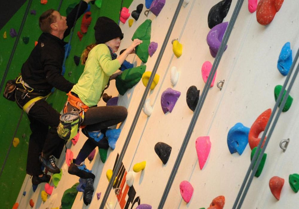 Green Spider Indoor Climbing Herefordshire