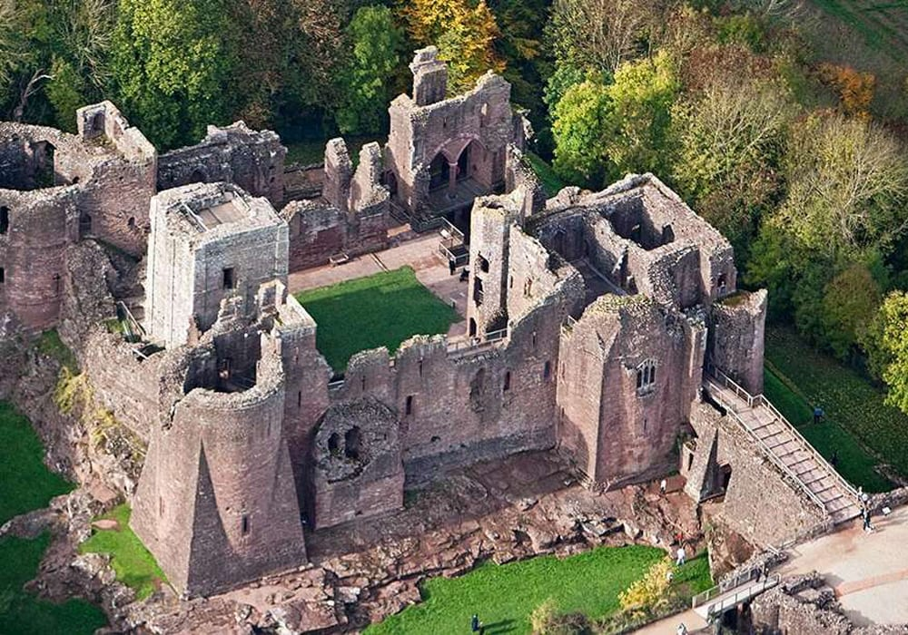 Things To Do Herefordshire Goodrich Castle