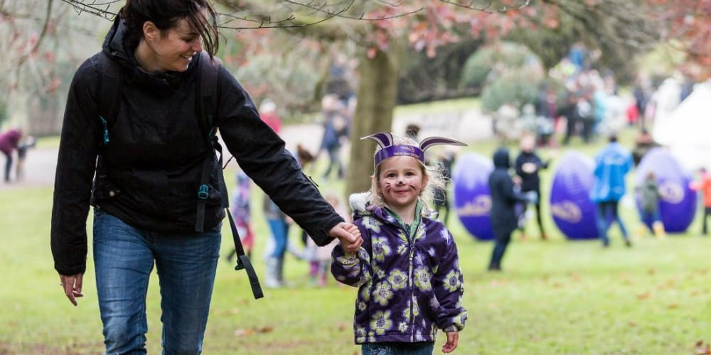 Cadbury Easter Egg Hunt At Weir Garden