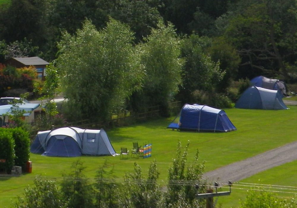 Camping Caravanning In Herefordshire Lucksall