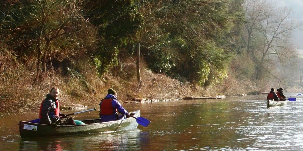 Canoeing & Kayaking In Herefordshire