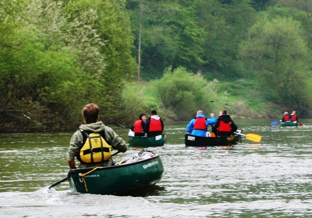 Canoeing Kayaking Stand Up Paddleboarding In Herefordshire Wye Canoe
