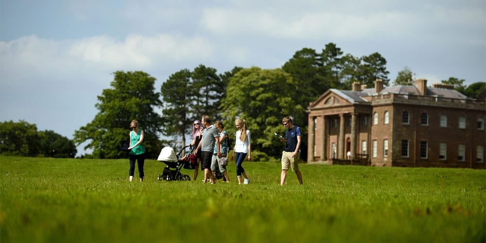Perfect Places To Picnic In Herefordshire, Berrington Hall