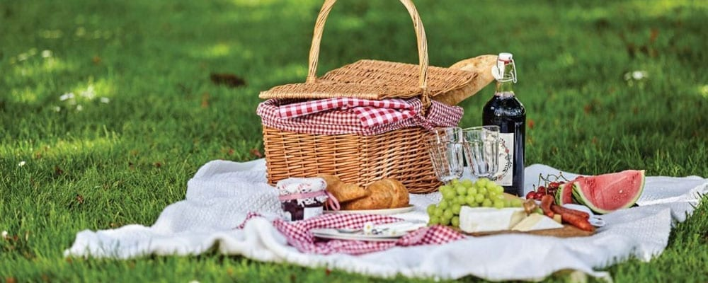 Picnics At Goodrich Castle In Ross On Wye