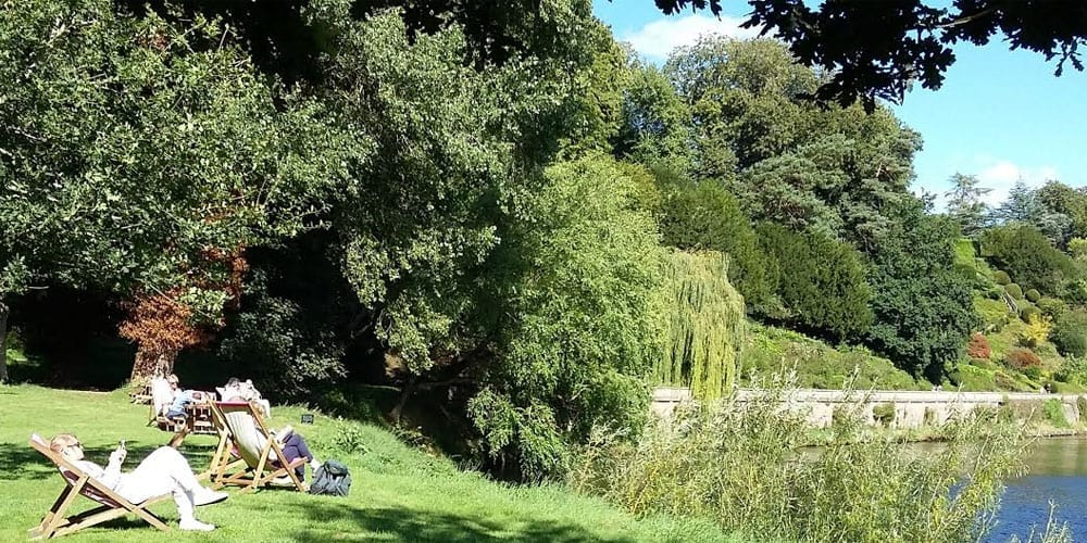 Picnics At Weir Garden In Hereford