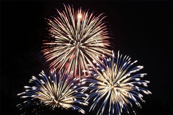 Black Mountain Lions Fireworks