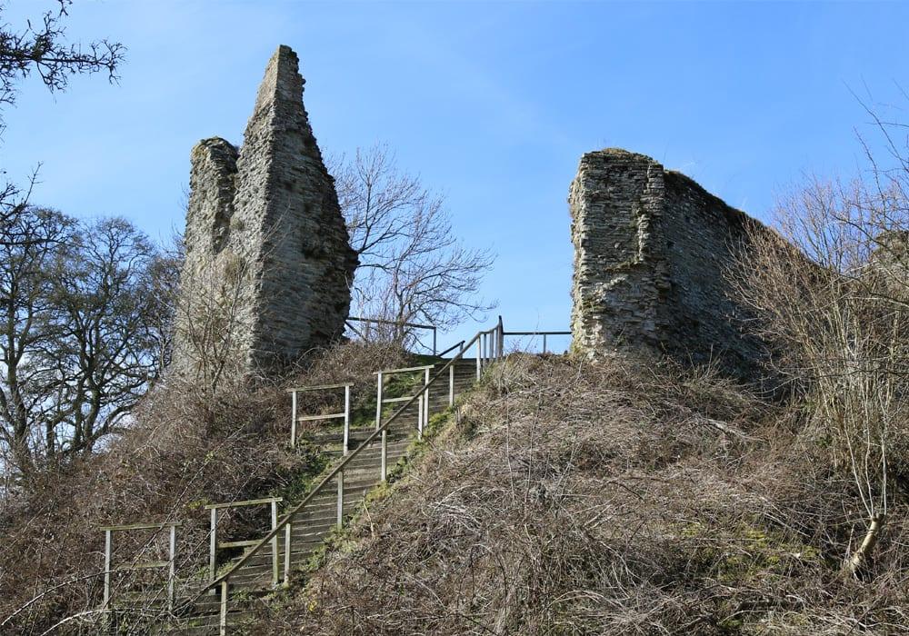 Wigmore Castle Herefordshire