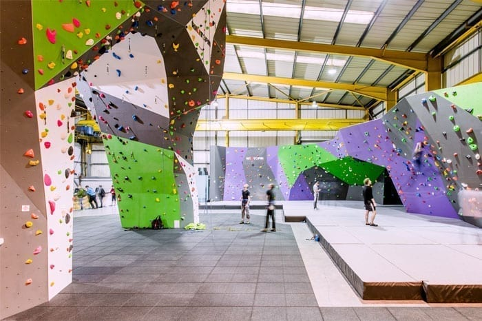 Fathers Day Indoor Climbing