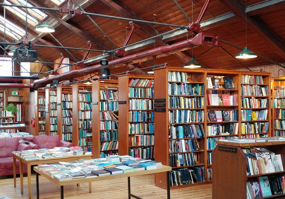 Richard Booths Bookshop Cafe Herefordshire