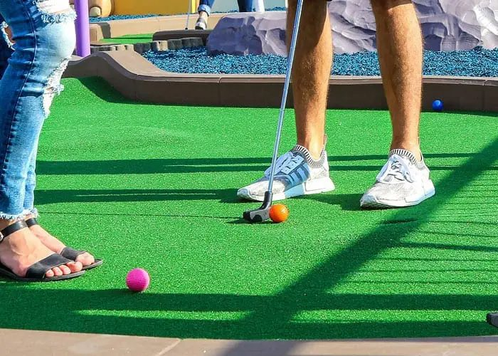 Crazy Golf In Herefordshire
