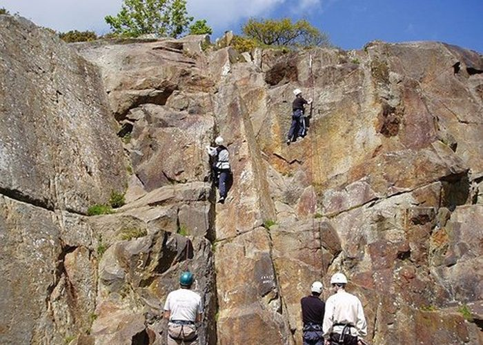 Outdoor Climbing