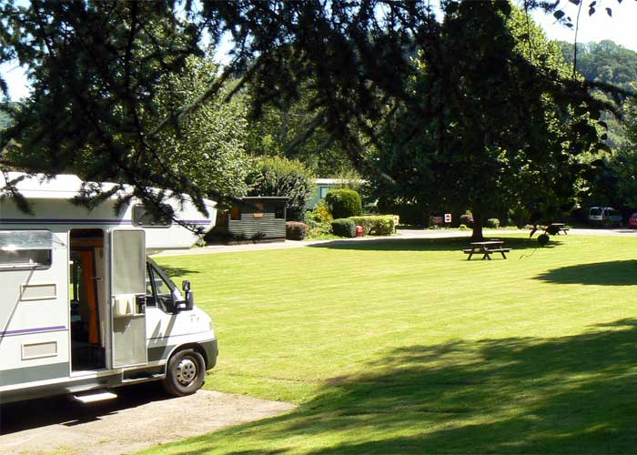 Sterretts Caravanning In Herefordshire