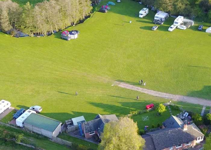 Elmsdale Dog Friendly Campsites In Herefordshire
