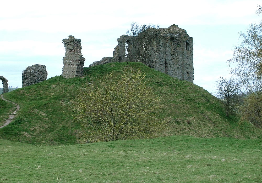 Clun Castle Craven Arms