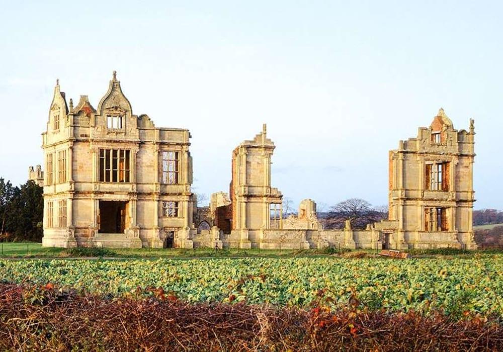 Moreton Corbet Castle Shropshire