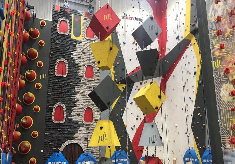 Climbing The Walls Shropshire