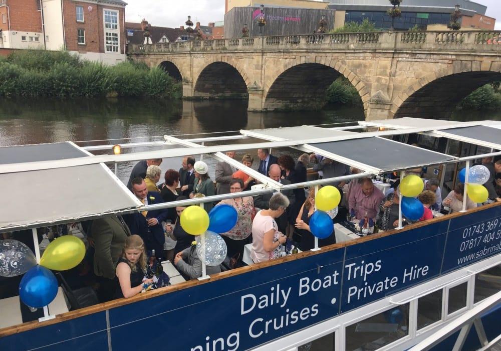 Sabrina Boat Tours Shrewsbury