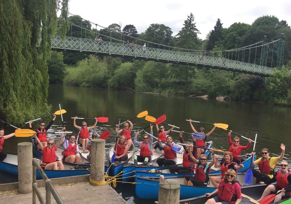 Shrewsbury Canoe Hire Severn Challenge