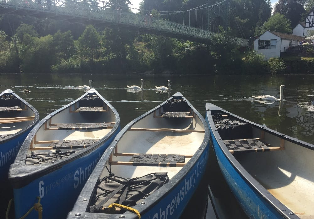 Shrewsbury Canoe Hire Shropshire