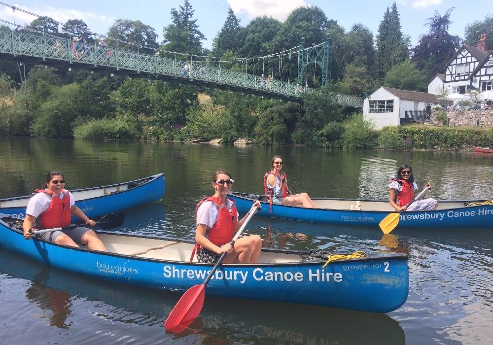 Shrewsbury Canoe Hire