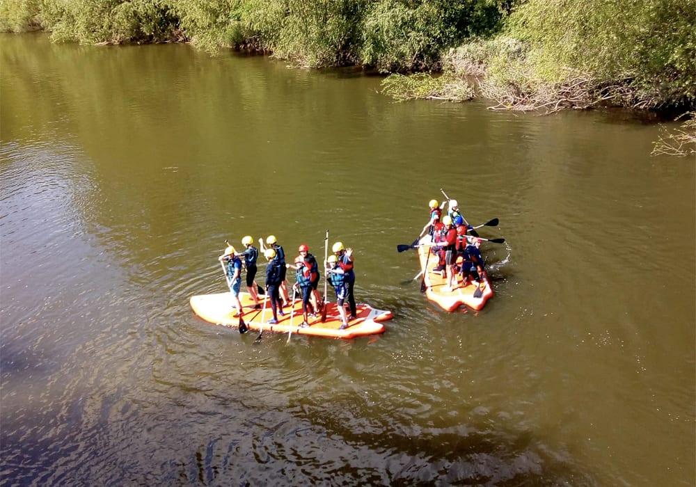 Shropshire Raft Tours Telford