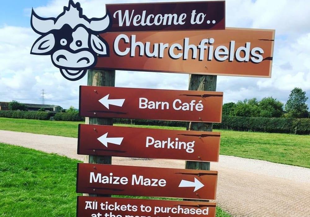 Churchfields Farm Maize Maze