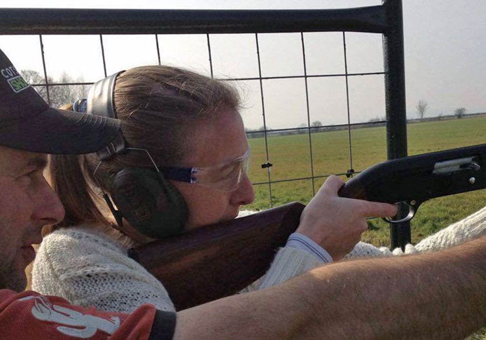 Clay Pigeon Shooting Cotswolds Worcestershire