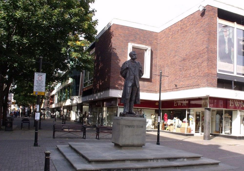 Edward Elgar Statue Worcester
