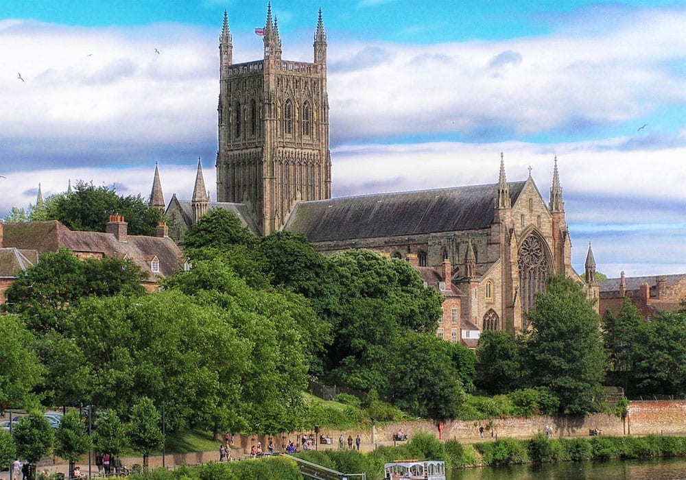 Worcester Cathedral Worcestershire