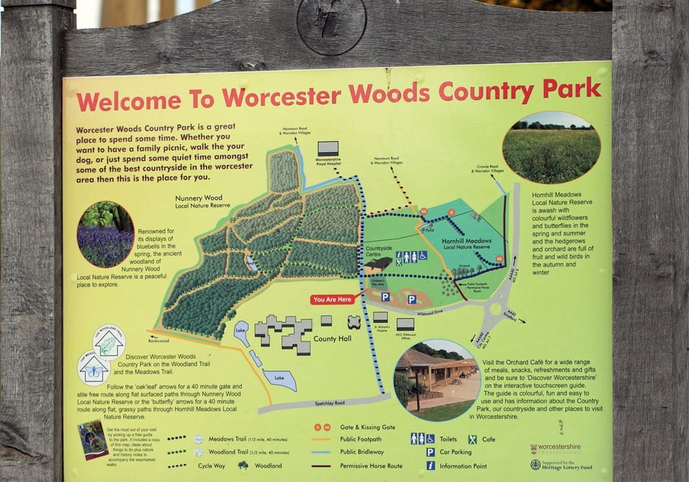 Worcester Woods Country Park