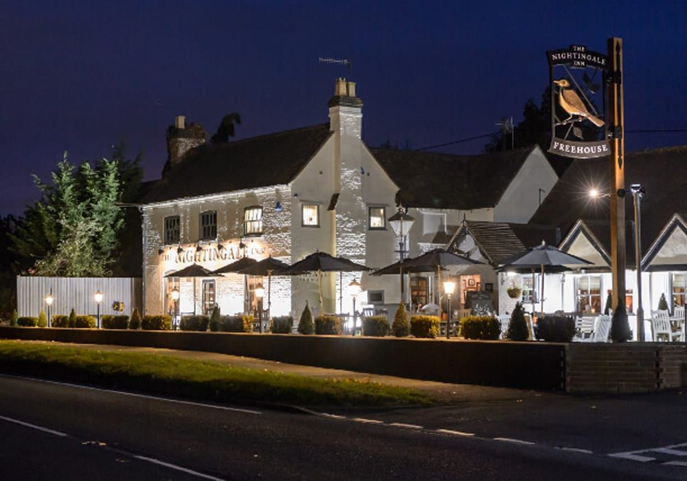 Restaurants In Worcestershire The Nightingale