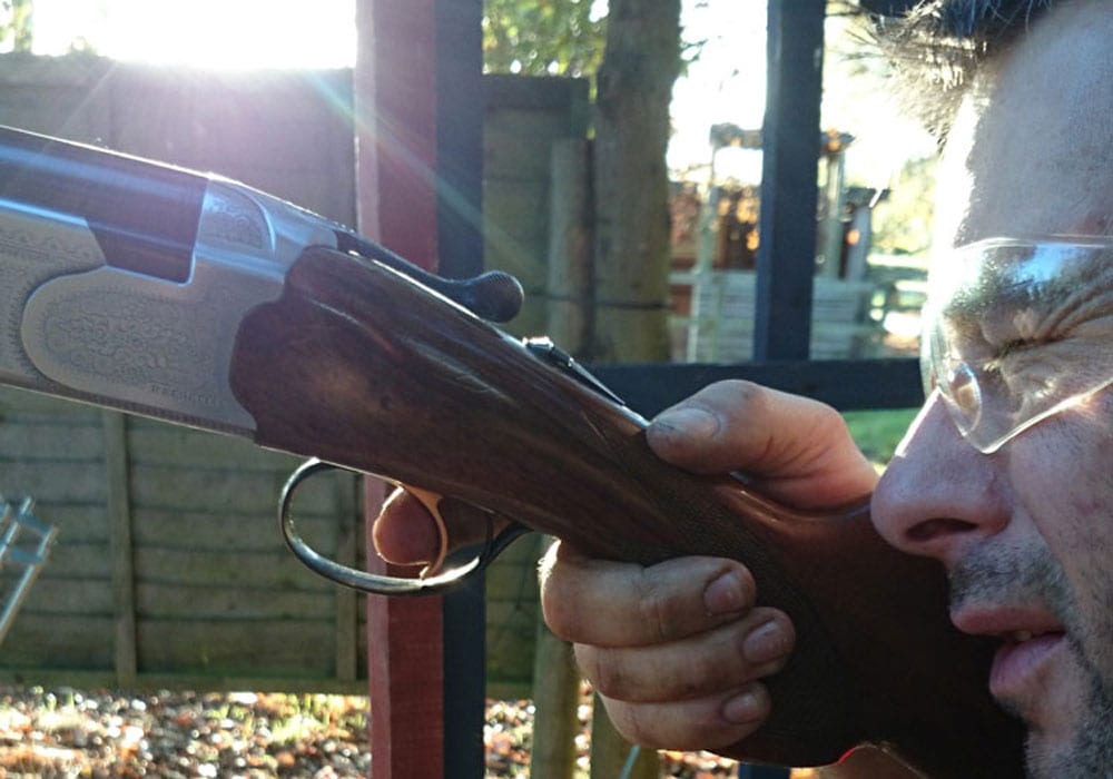 Clay Pigeon Shooting Cotswolds