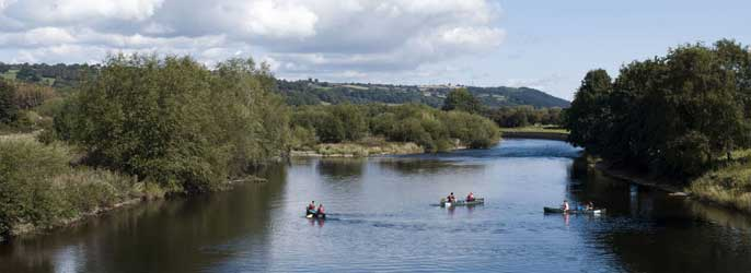 Kayaking Canoeing Standup Paddle Boarding Herefordshire